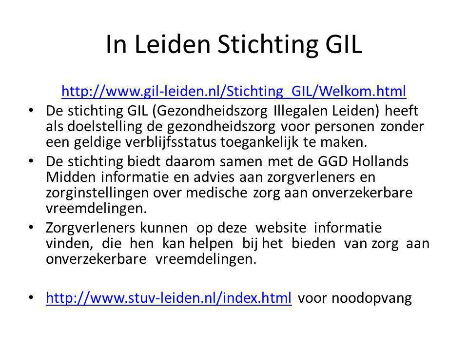 In Leiden Stichting GIL