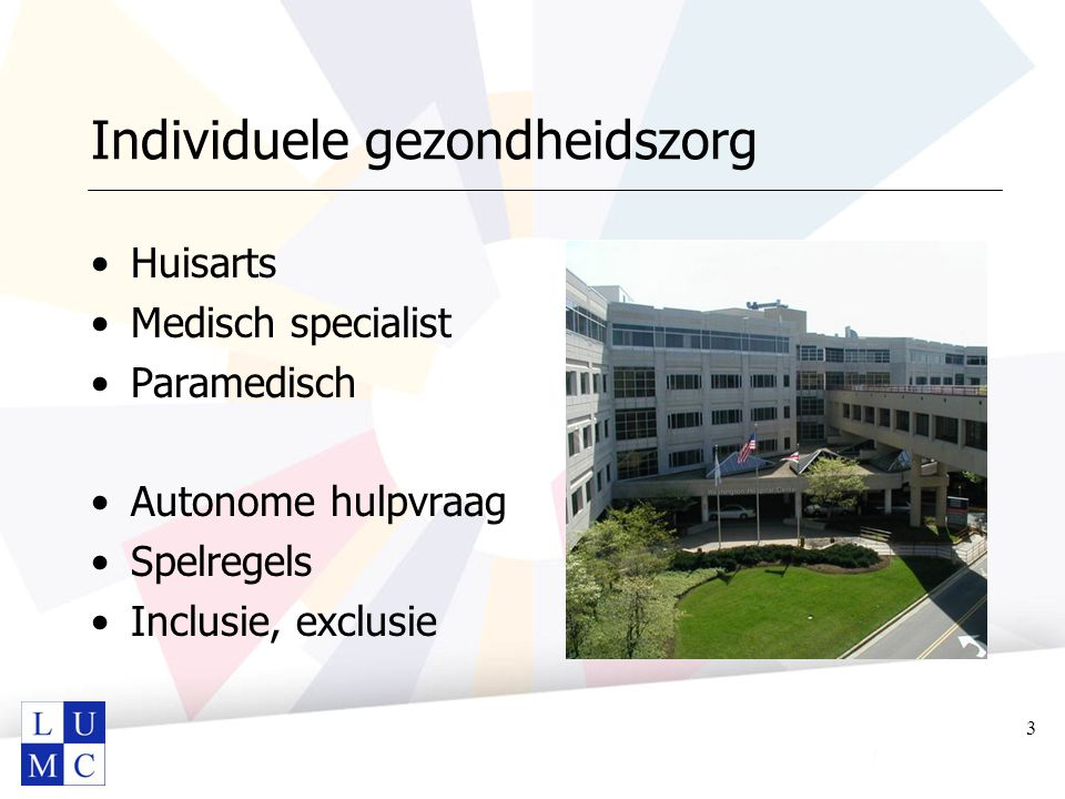 Individuele gezondheidszorg