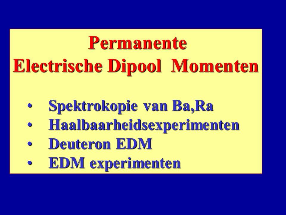Electrische Dipool Momenten