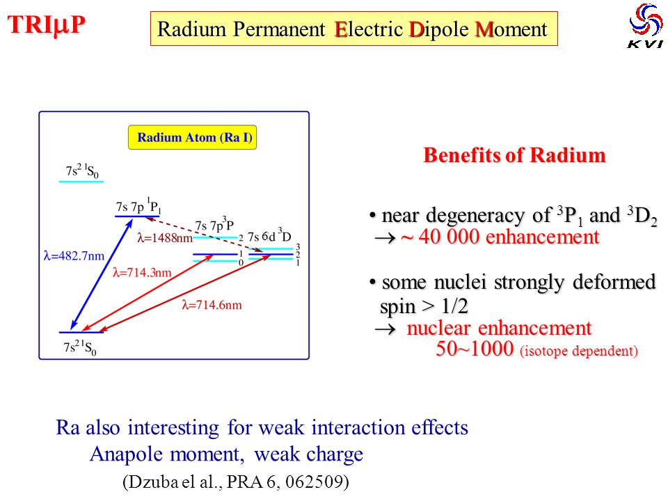 TRImP Radium Permanent Electric Dipole Moment Benefits of Radium
