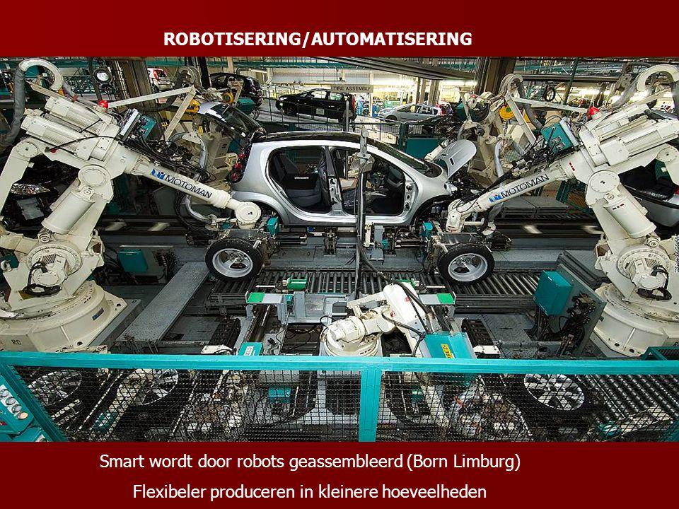 ROBOTISERING/AUTOMATISERING