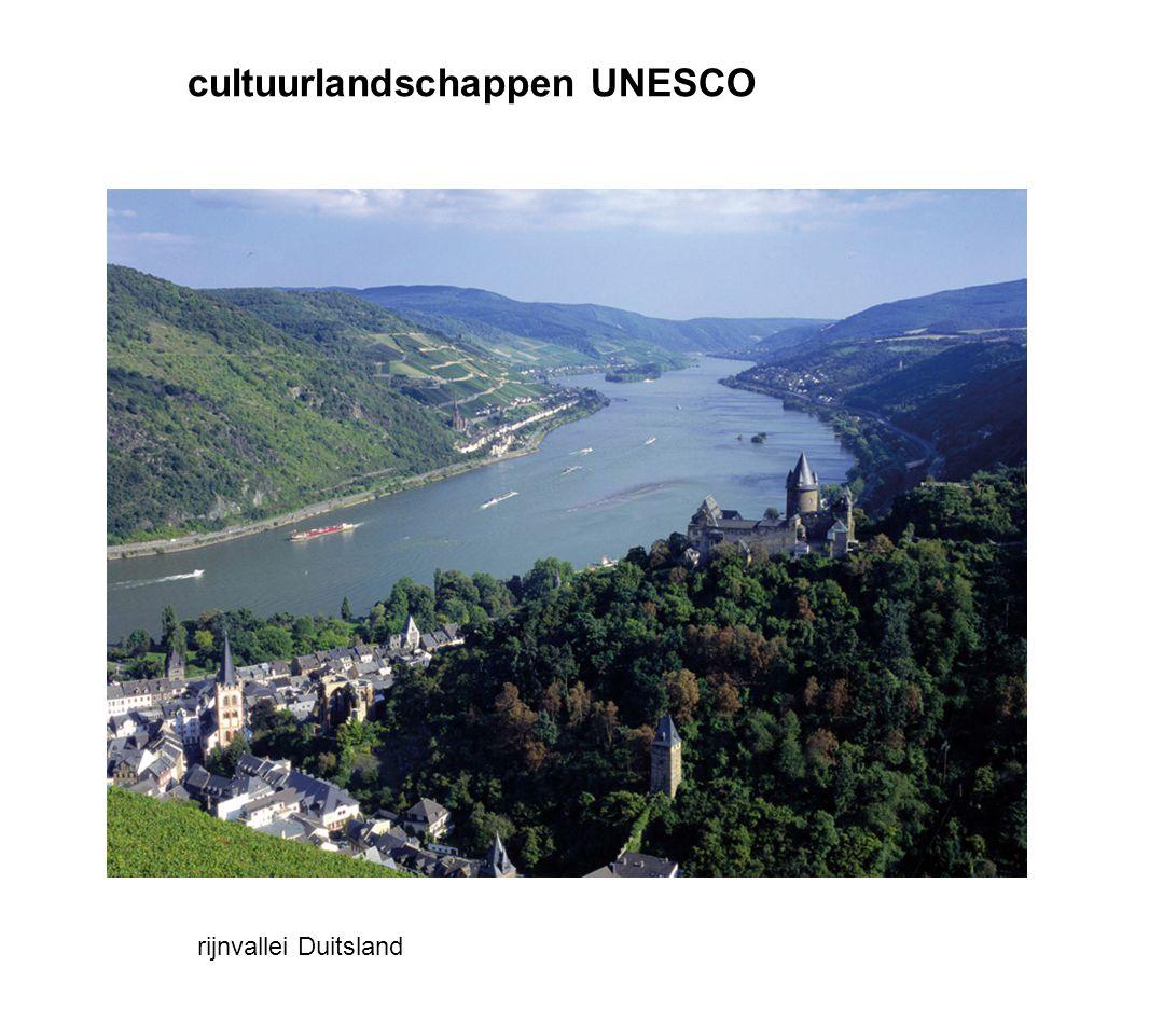 cultuurlandschappen UNESCO