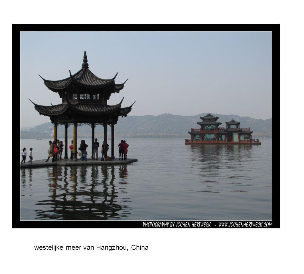 westelijke meer van Hangzhou, China