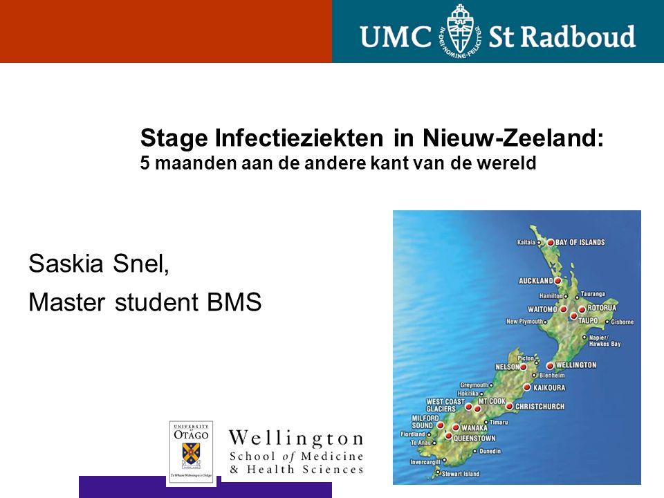 Saskia Snel, Master student BMS