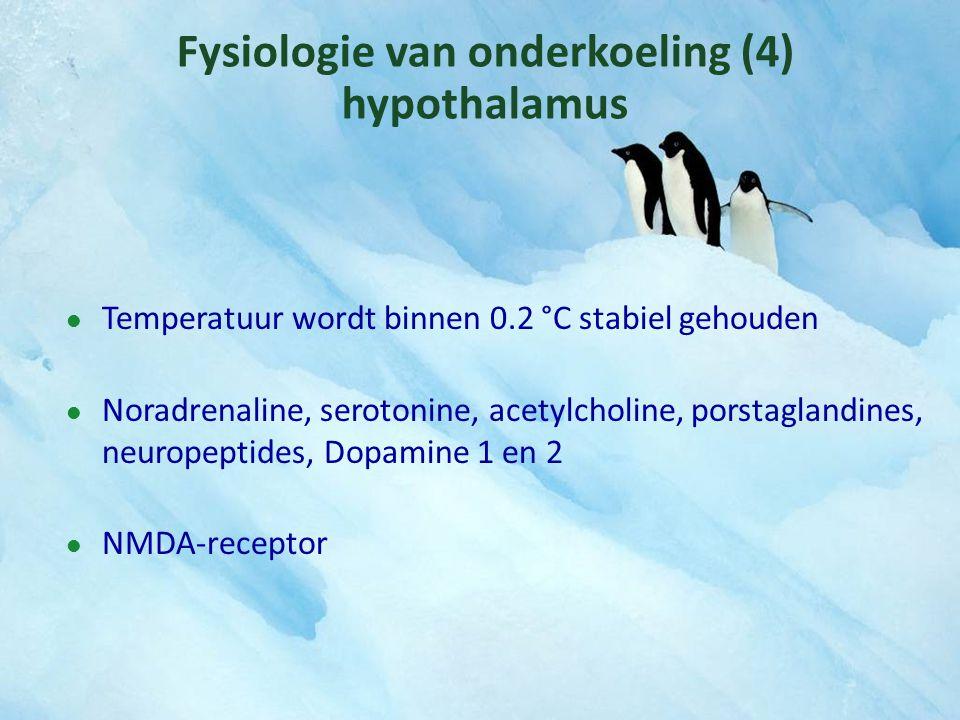 Fysiologie van onderkoeling (4) hypothalamus