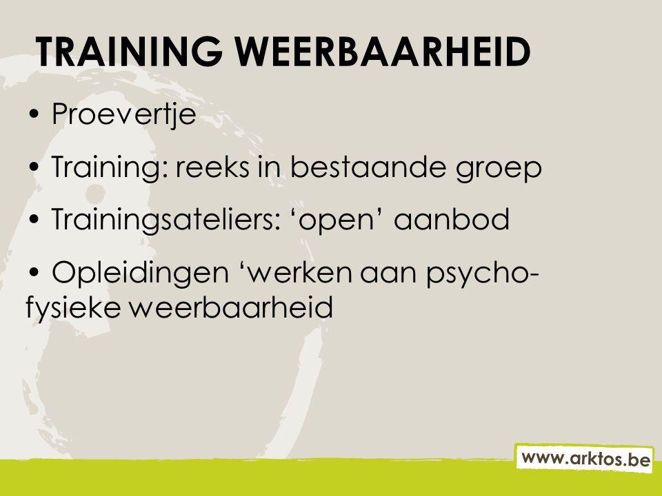 TRAINING WEERBAARHEID
