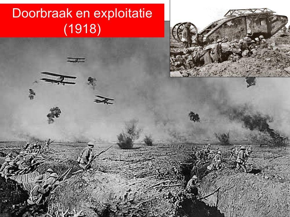 Doorbraak en exploitatie (1918)