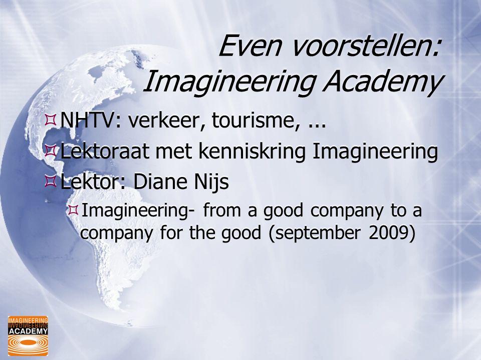 Even voorstellen: Imagineering Academy
