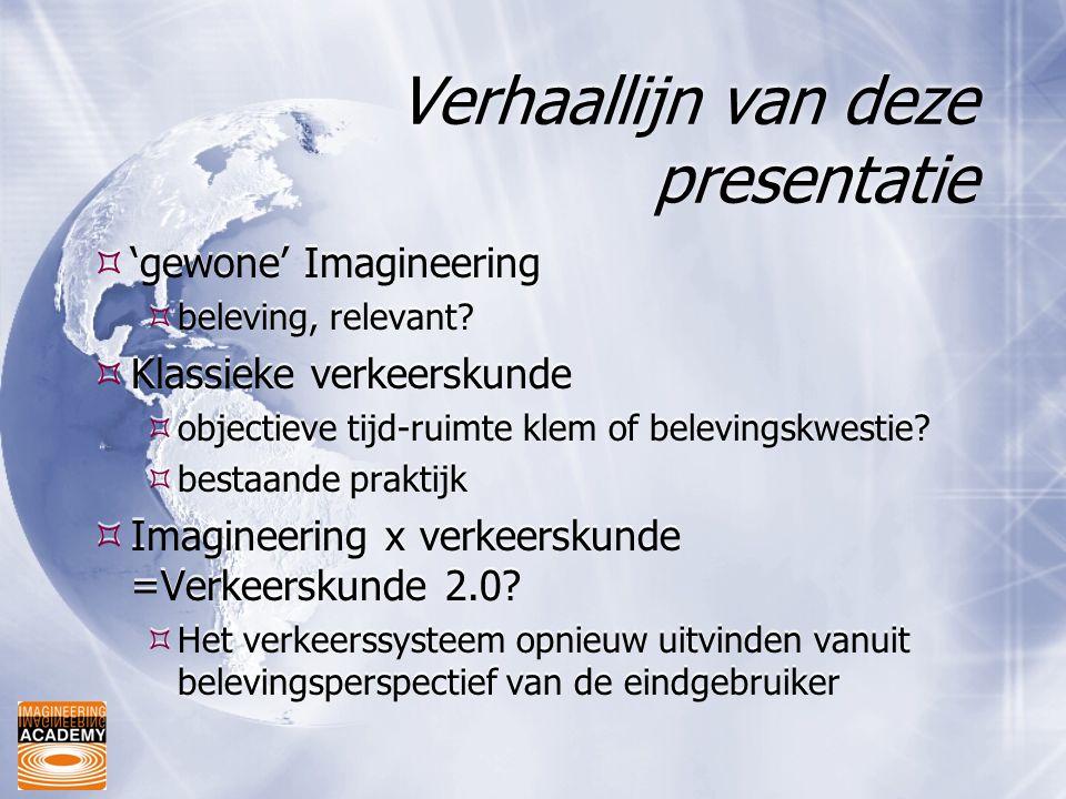 Verhaallijn van deze presentatie
