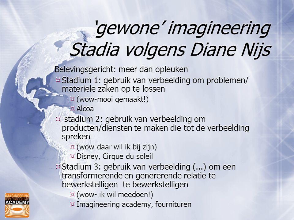'gewone' imagineering Stadia volgens Diane Nijs