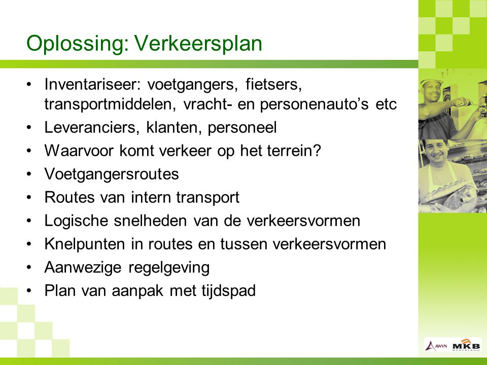Oplossing: Verkeersplan