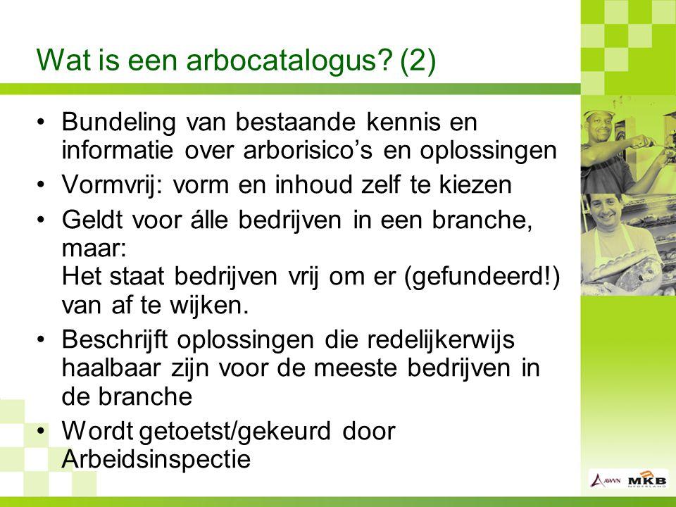 Wat is een arbocatalogus (2)