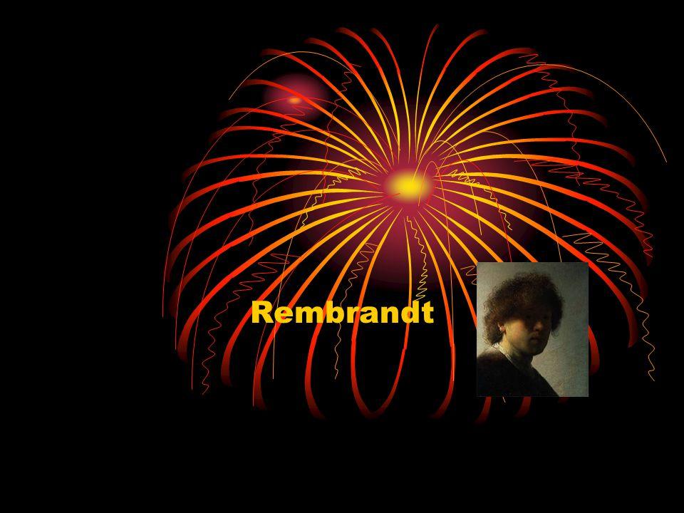 Rembrandt Rembrandt woonde eerst in Leiden.