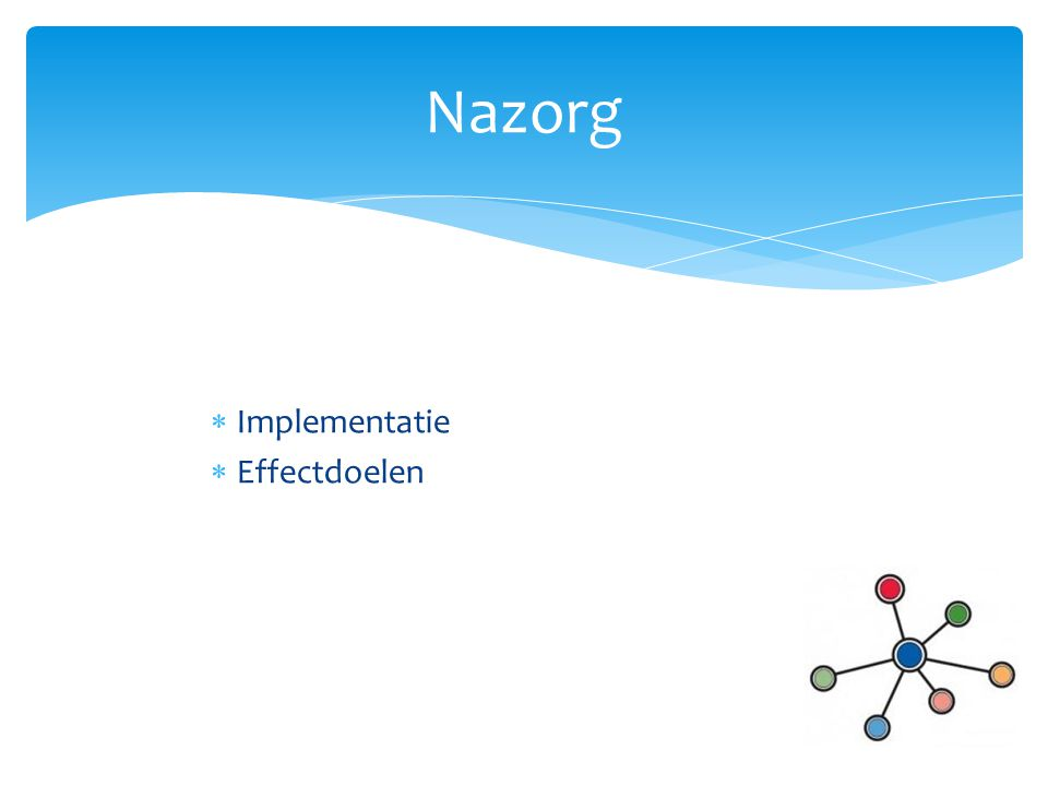 Nazorg Implementatie Effectdoelen
