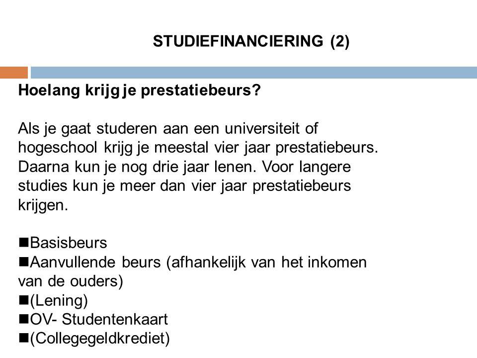 STUDIEFINANCIERING (2)