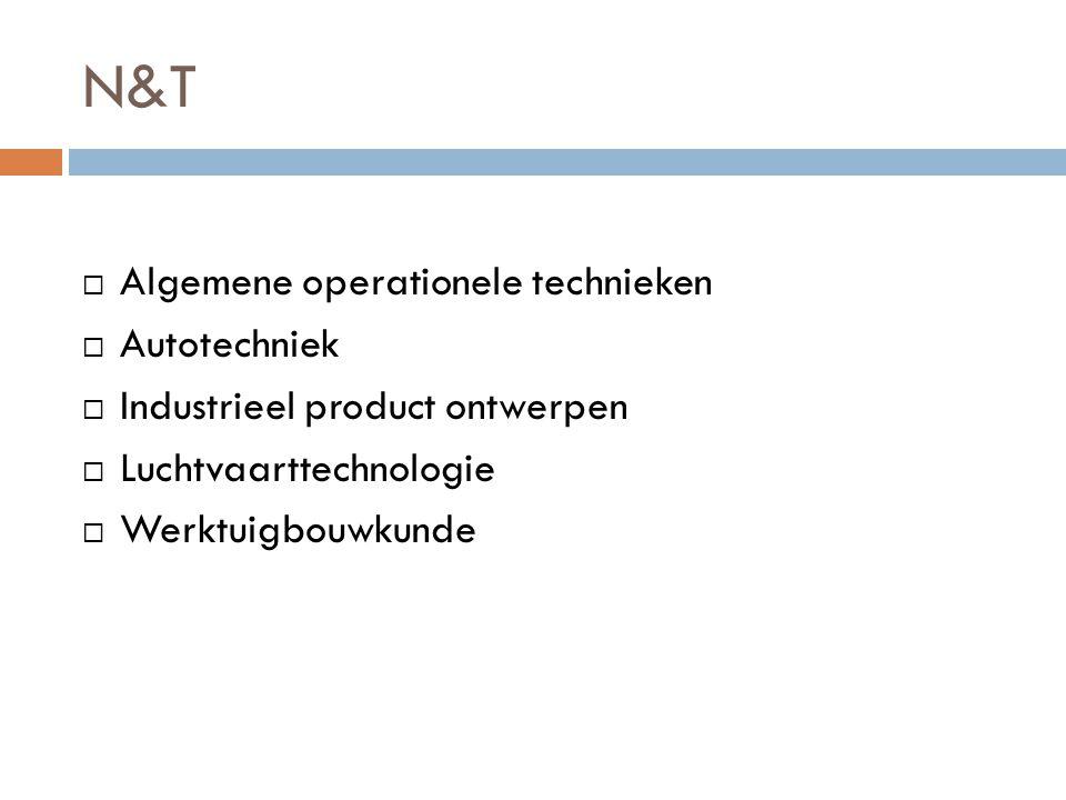 N&T Algemene operationele technieken Autotechniek