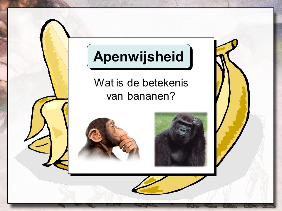 Wat is de betekenis van bananen