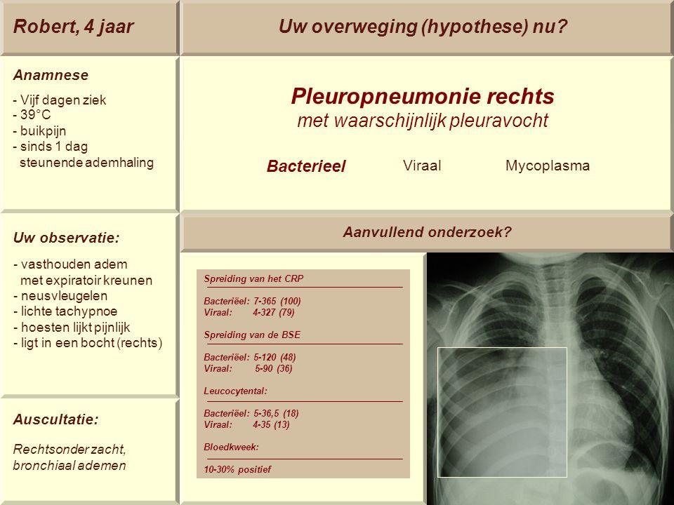 Pleuropneumonie rechts