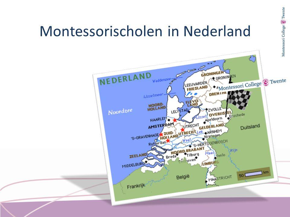 Montessorischolen in Nederland
