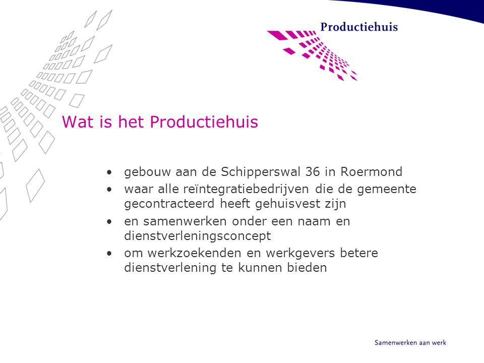 Wat is het Productiehuis