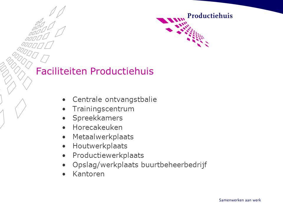 Faciliteiten Productiehuis