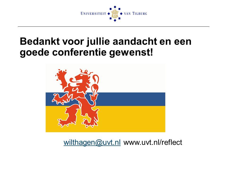 wilthagen@uvt.nl www.uvt.nl/reflect