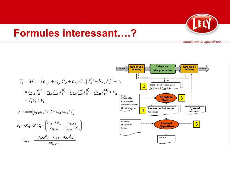 Formules interessant….