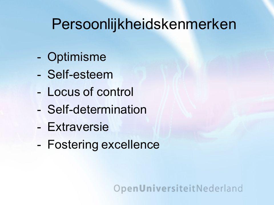 Persoonlijkheidskenmerken