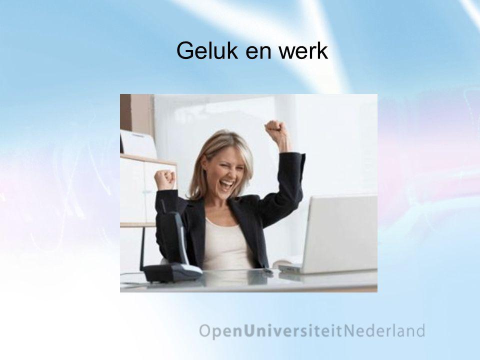 Geluk en werk