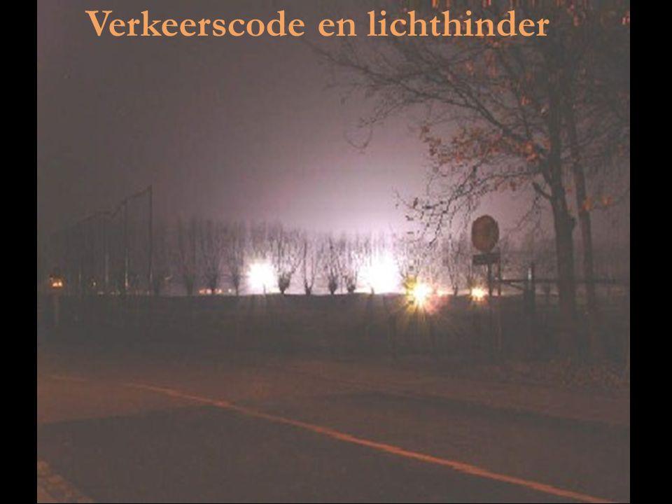 Verkeerscode en lichthinder