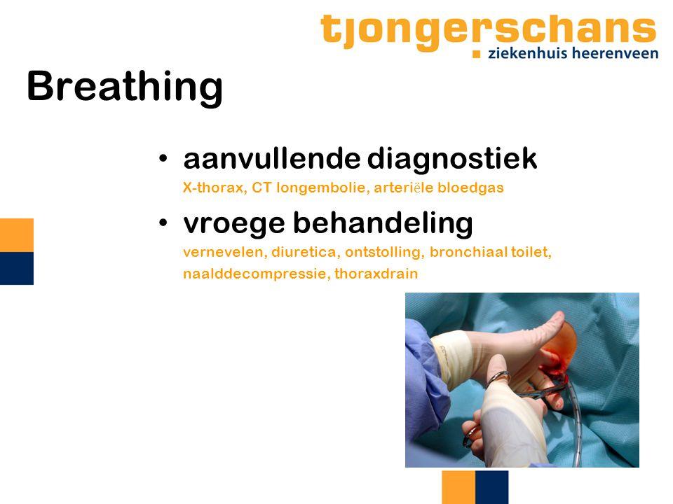 Breathing aanvullende diagnostiek vroege behandeling