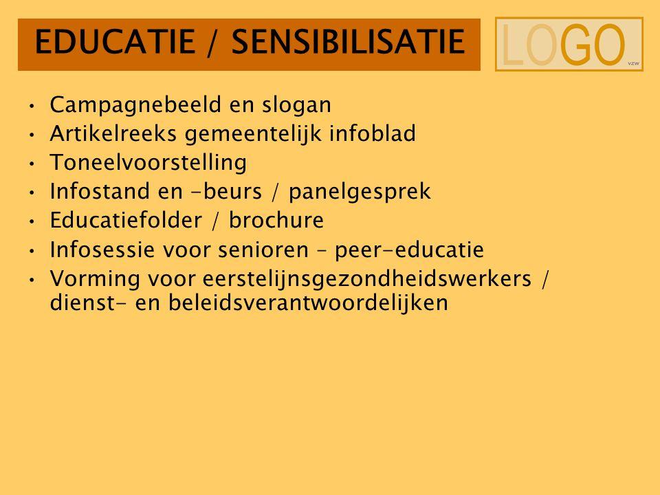EDUCATIE / SENSIBILISATIE