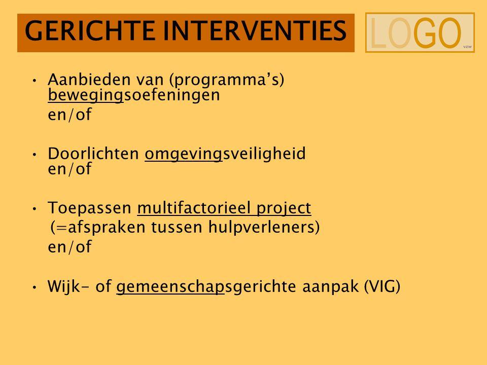 GERICHTE INTERVENTIES