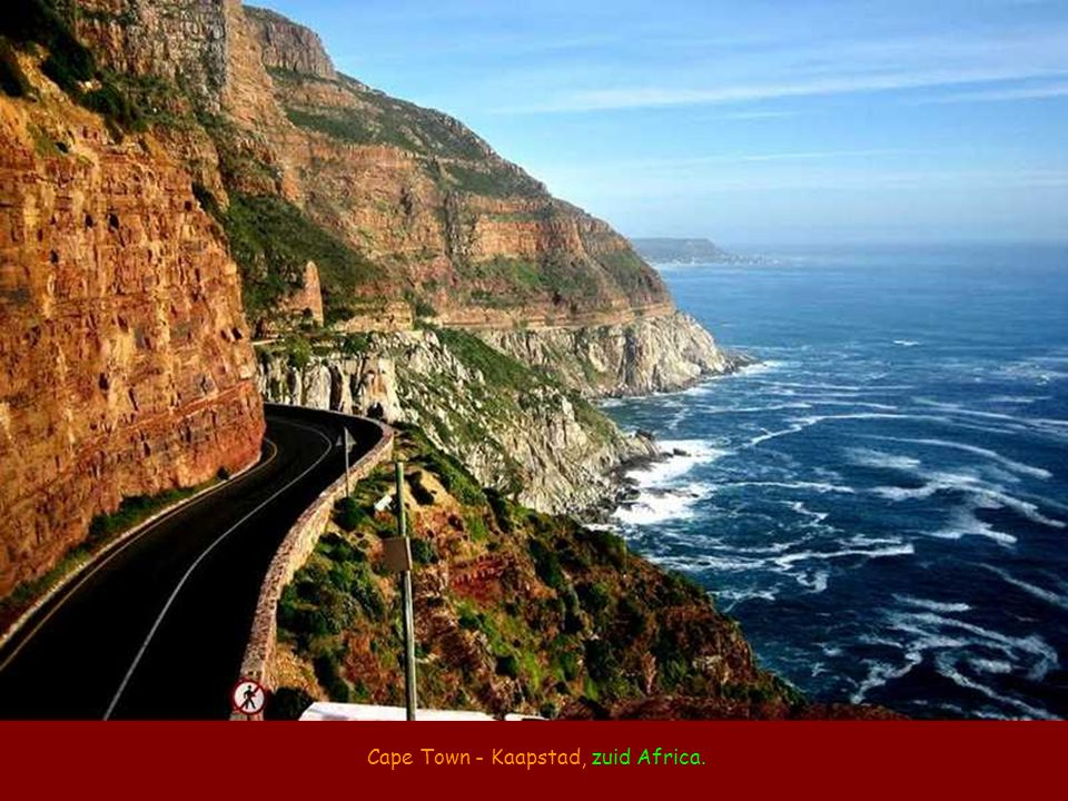 Cape Town - Kaapstad, zuid Africa.