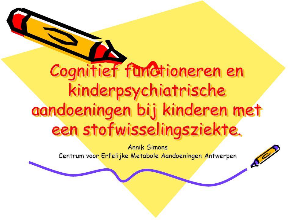 Annik Simons Centrum voor Erfelijke Metabole Aandoeningen Antwerpen