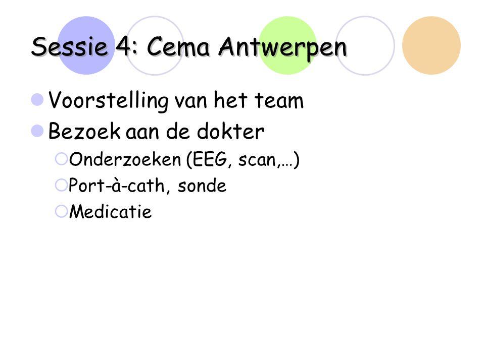 Sessie 4: Cema Antwerpen