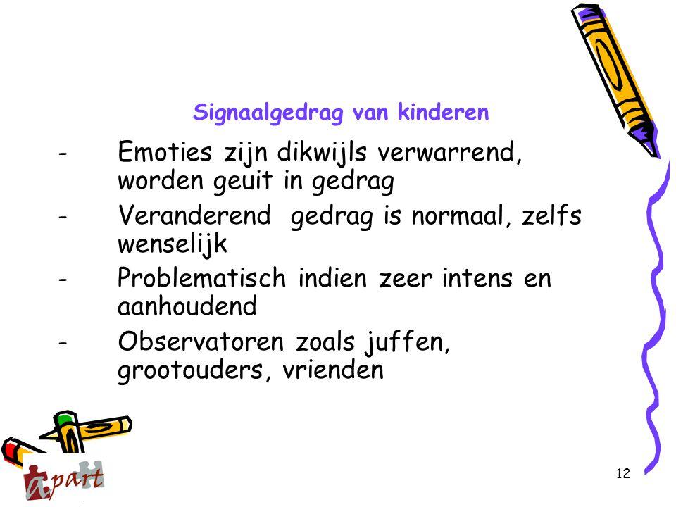 Signaalgedrag van kinderen