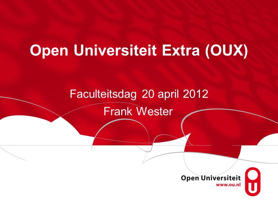 Open Universiteit Extra (OUX)