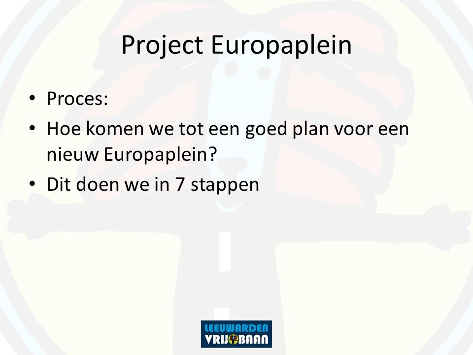 Project Europaplein Proces: