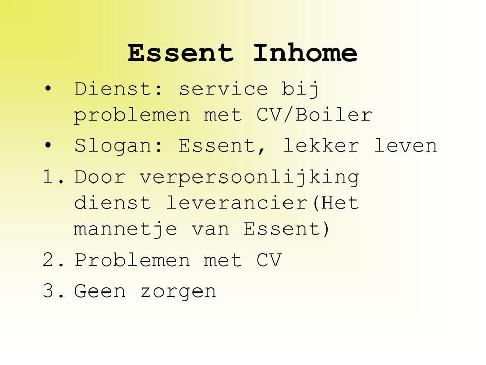 Essent Inhome Dienst: service bij problemen met CV/Boiler