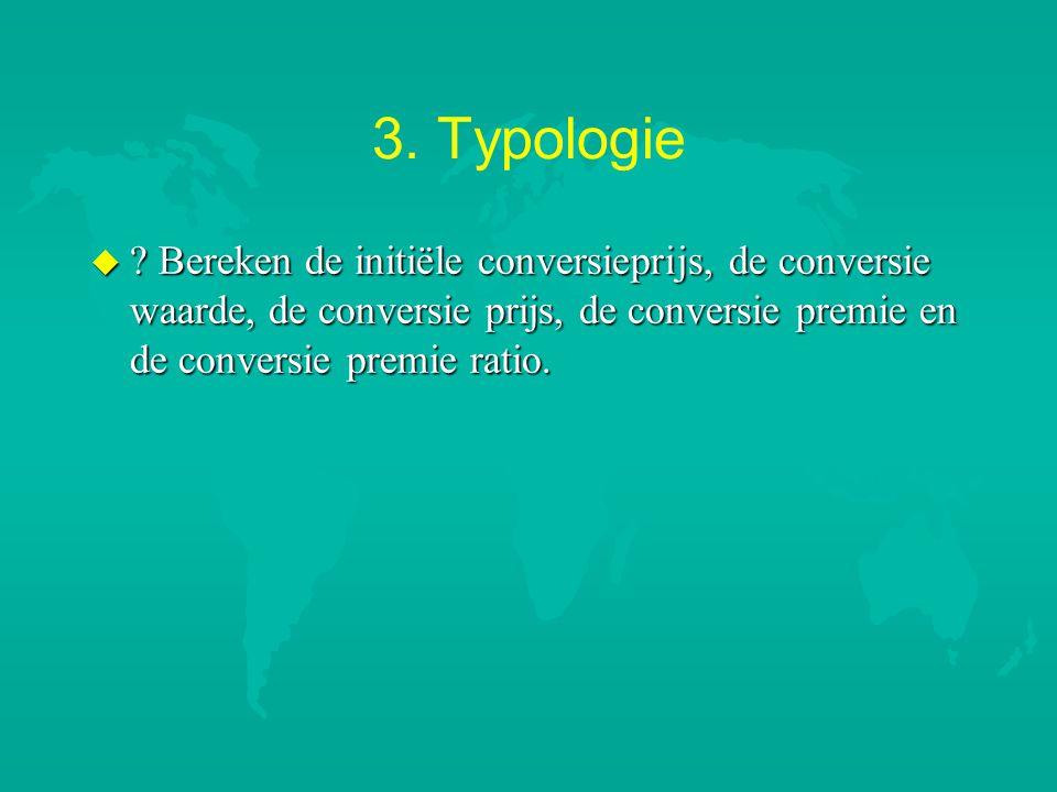 3. Typologie .