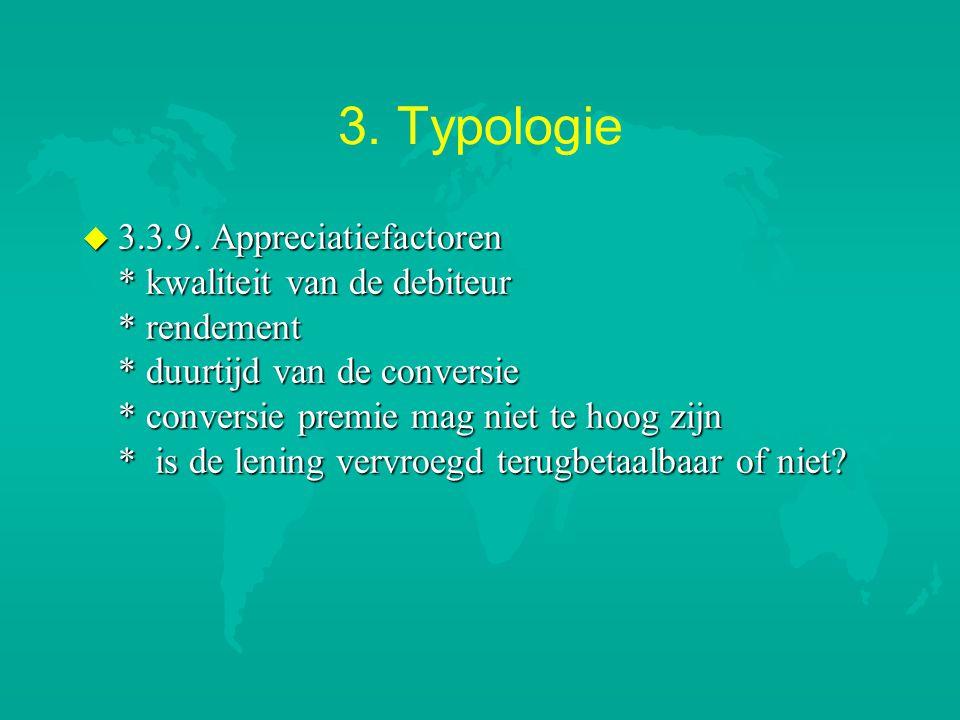 3. Typologie