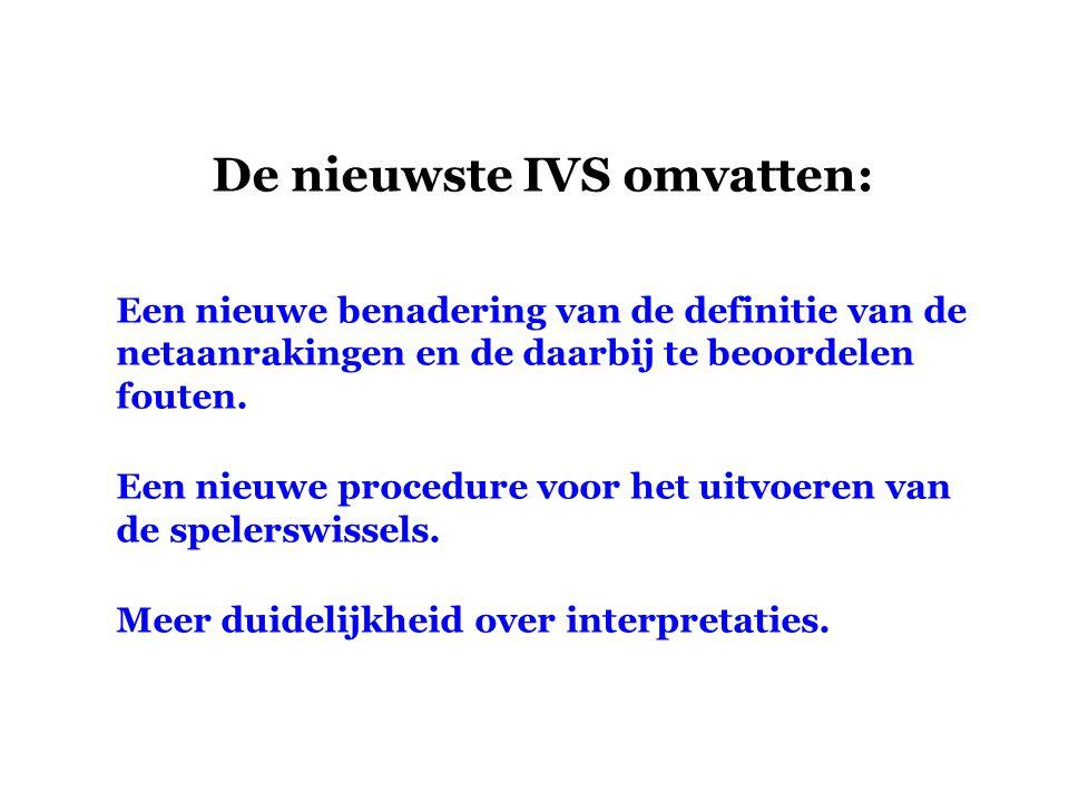 De nieuwste IVS omvatten:
