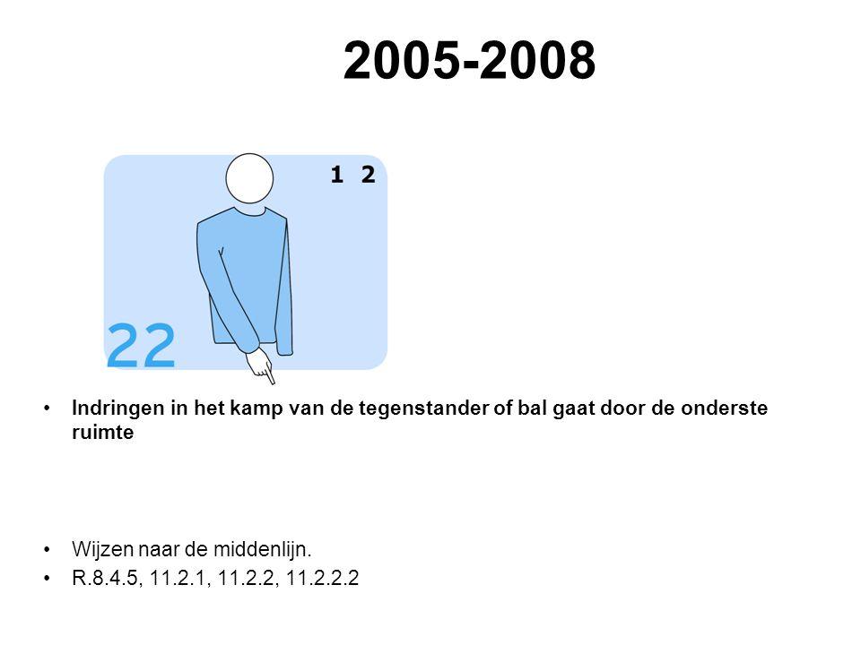 2005-2008 VVB SR commissie - reglementen 2009-2012