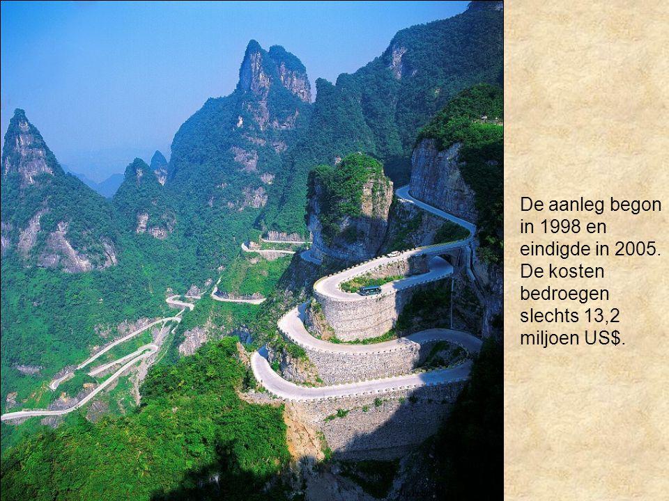 De aanleg begon in 1998 en eindigde in 2005