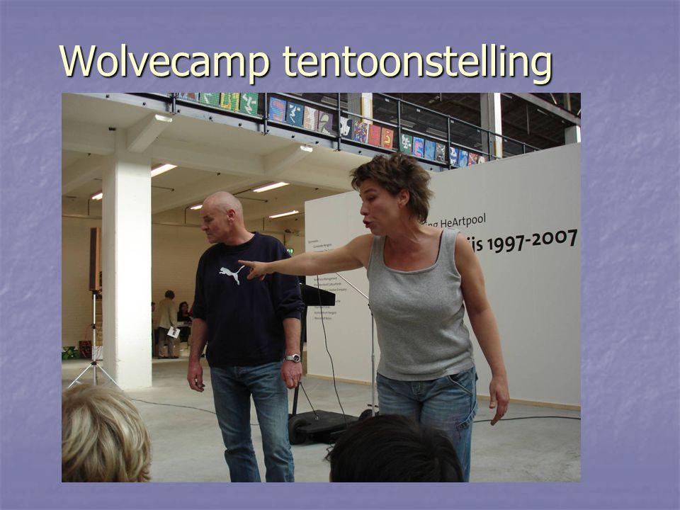 Wolvecamp tentoonstelling