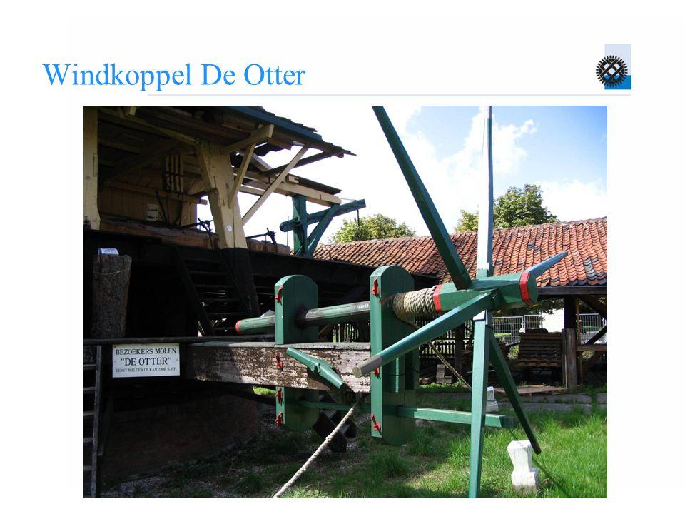 Windkoppel De Otter Spaken achter elkaar