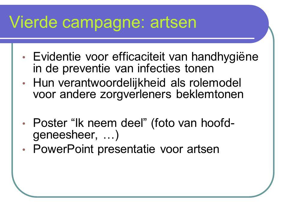 Vierde campagne: artsen