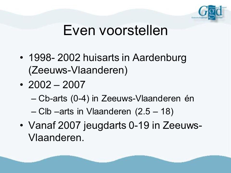 Even voorstellen 1998- 2002 huisarts in Aardenburg (Zeeuws-Vlaanderen)
