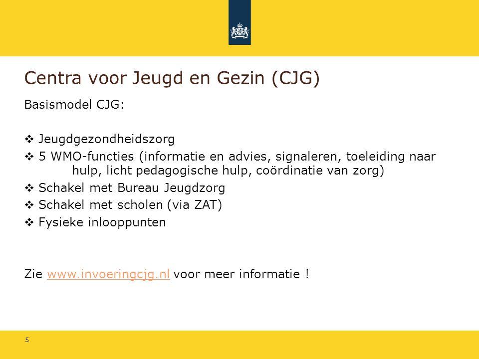Centra voor Jeugd en Gezin (CJG)